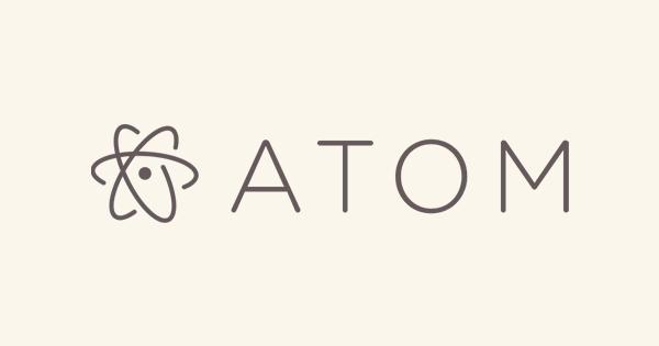 Atomのロゴ画像