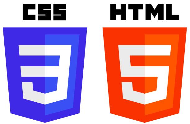 HTML5とCSS3のロゴ画像
